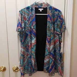 NWT Rebecca Malone blouse set sz 1X